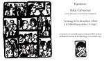 Invitation Rencontre et expo Kikie Crèvecoeur - Caroline Lamarche 02