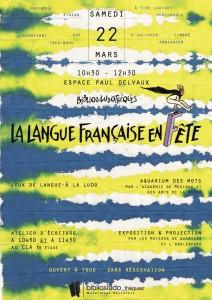 La langue française en fête 2014