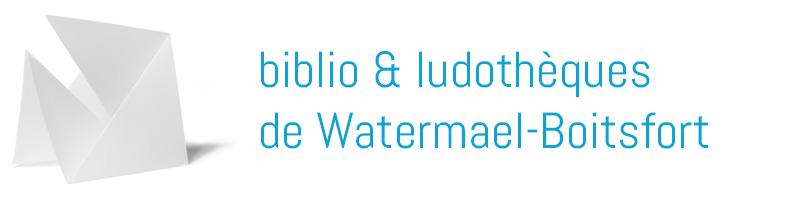 biblio et ludothèques de Watermael-Boitsfort