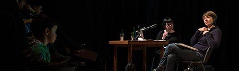 Merle ! Un merle, des livres, une rencontre avec Anne Herbauts (photos, audio)