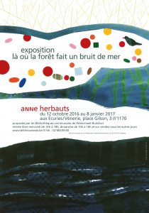 Anne Herbauts - Affiche
