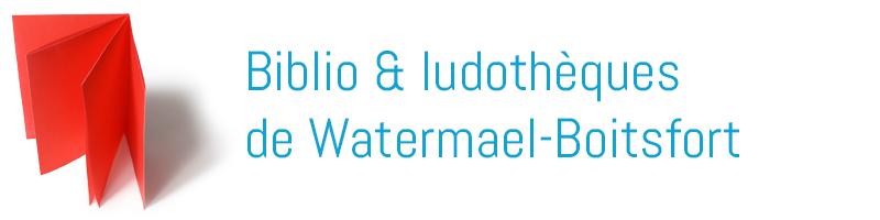 Biblio & ludothèques de Watermael-Boitsfort