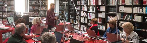 Espace Public Numérique : Ateliers et Rencontre-débat (photos)