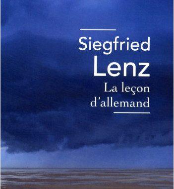 Rencontre Autour d'un Livre : La leçon d'allemand, de Siegfrid Lenz
