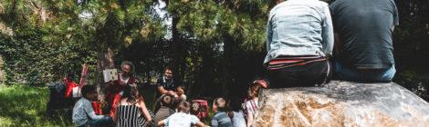 Lire dans les parcs : photos