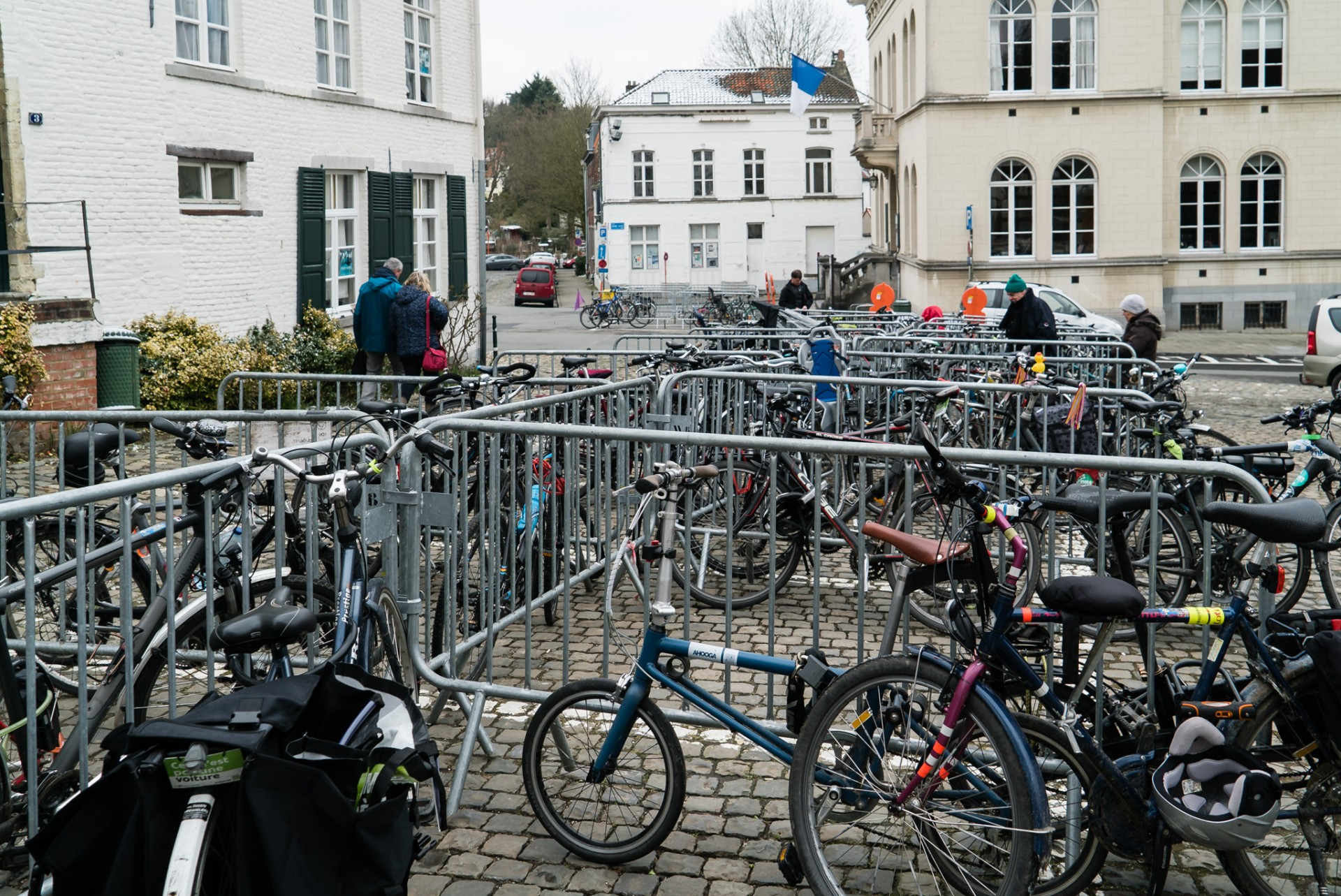 Watermael-Boitsfort, Ville des Mots 2018 Photos > L'atelier du vélo volubile