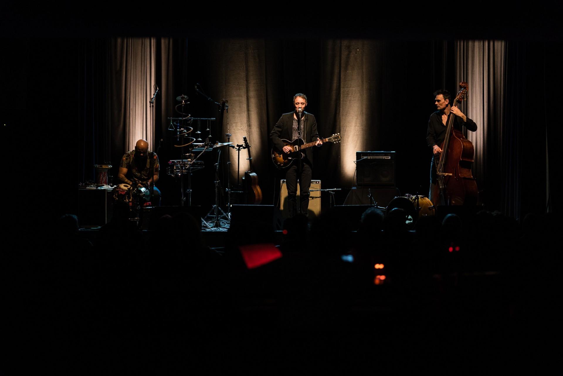 Watermael-Boitsfort, Ville des Mots 2018 Photos > Ivan Tirtiaux Trio