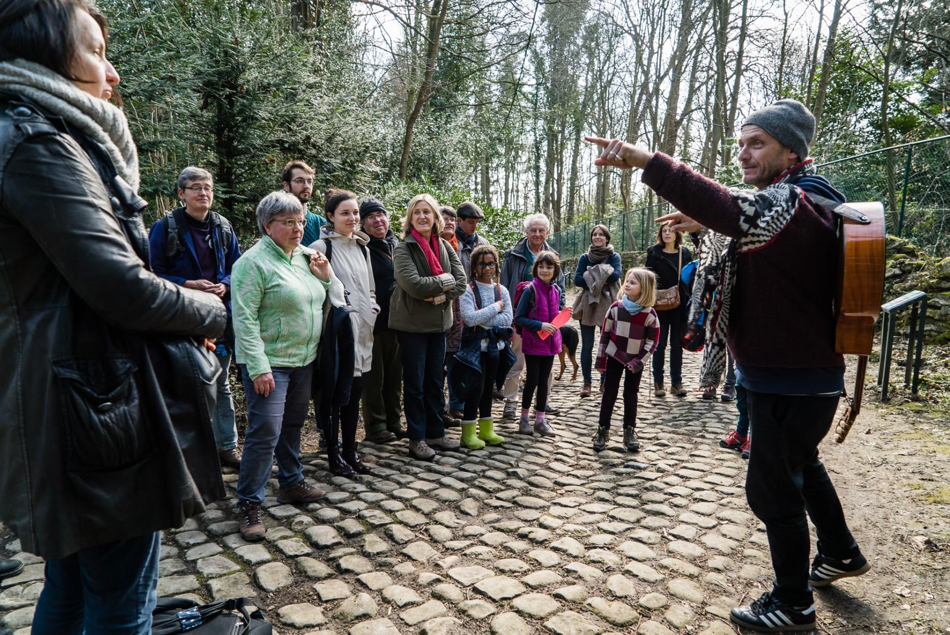 Watermael-Boitsfort, Ville des Mots 2018 Photos > Bagou des bois